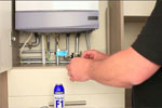 How to dose a central heating system