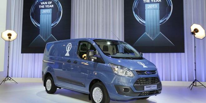 "Popular - Ford Transit Custom was named ""International Van of the Year 2013"""