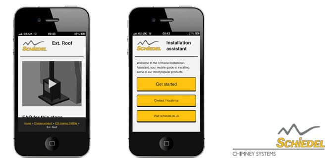 Popular - Chimney company launches mobile app to aid installers
