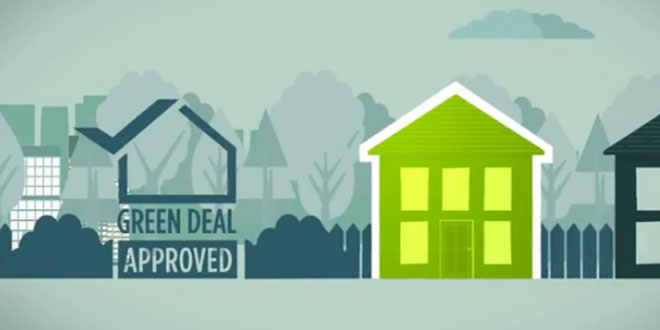 Green Deal inspiring energy saving action