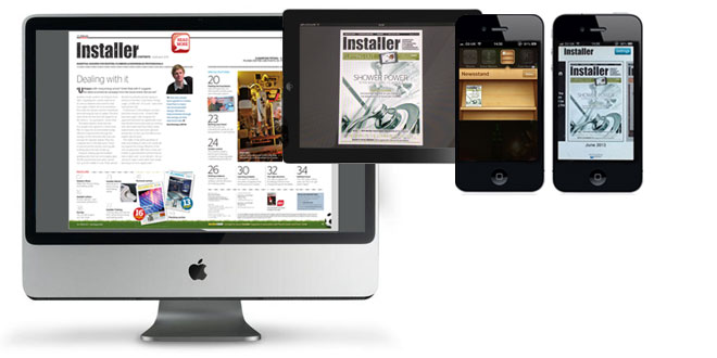 Installer is now available digitally – on your PC, iPad or even iPhone – bringing the magazine closer to its readers.