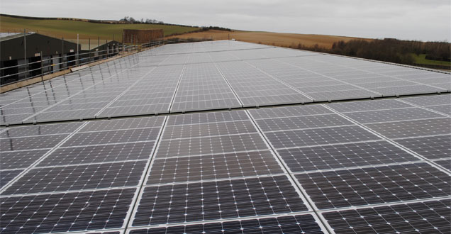 Krannich Solar and Infinite Energy deliver one of the UK's largest roof-mounted agricultural PV installations