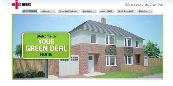NICEIC launch interactive Green Deal website