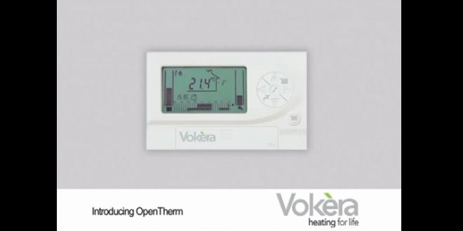 Installing OpenTherm Control and Weather Compensation sensor