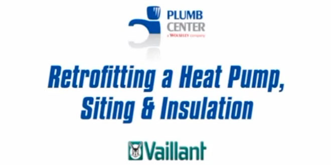 Retrofitting a heat pump, siting & insulation: guide from Practical InstallerLive at Ecobuild 2013