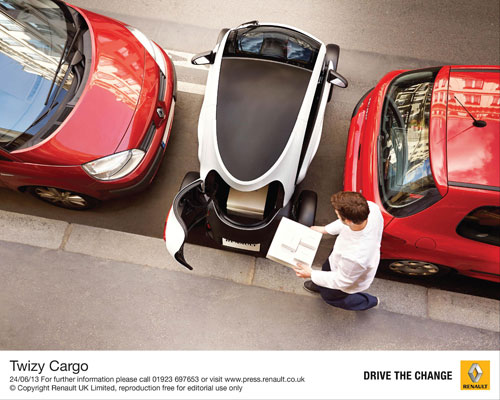 Renault announces all-new Twizy Carg