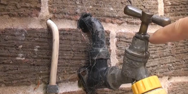 How to stop an outside tap from leaking