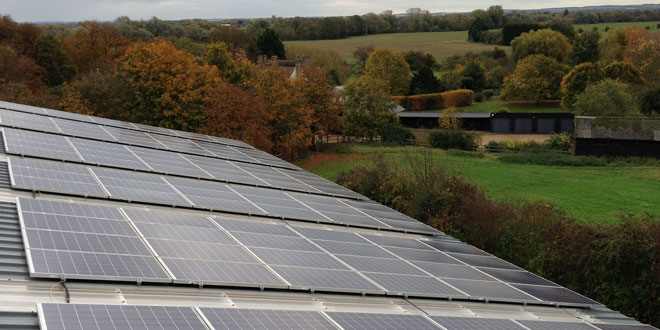 Specialist renewable energy company stages an impressive PV installation