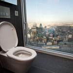 Geberit's Shard toilet on list of 50 must-pee places to visit before you die