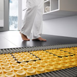Schlüter®-DITRA-HEAT-E Underfloor Heating Cutting installation time by up to 70%