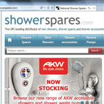 New spares service for AKW showers