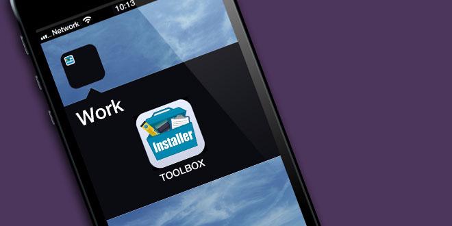 Installer's new TOOLBOX App