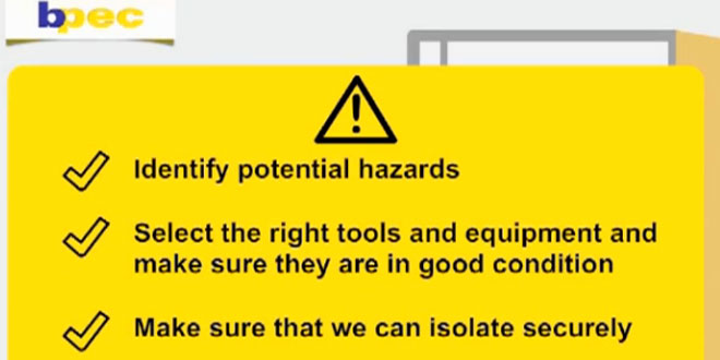 The second in the series of BPEC Safety Awareness Apps is now available – Electrical Safety Awareness.