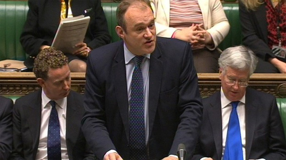 Ed Davey responds to British Gas's price hike