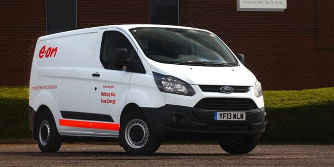 Popular - Ford transit custom order sparked by E.ON fleet growth