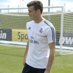 Real Madrid's Bale, Benzema, Modric & Jese show amazing rugby skills
