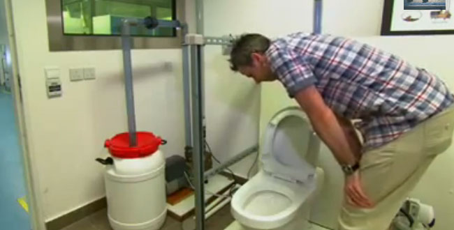 The toilet system turning human waste into energy