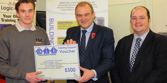 Training voucher scheme launched to help industry