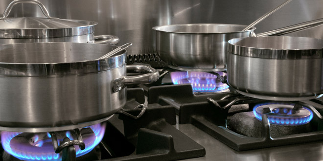 Operating safely with gas appliances