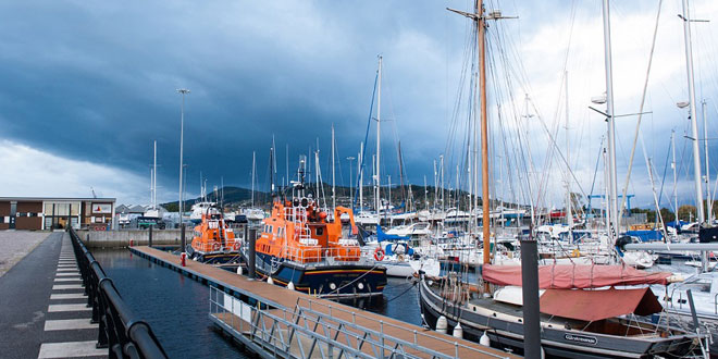 Inverness Marina building hots up with underwater solution