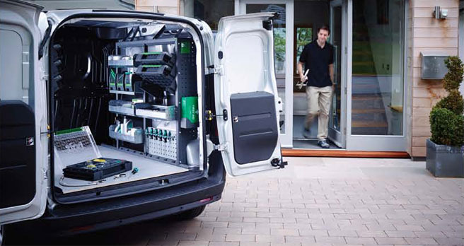 Cut your vehicle costs with space saving Van Racking