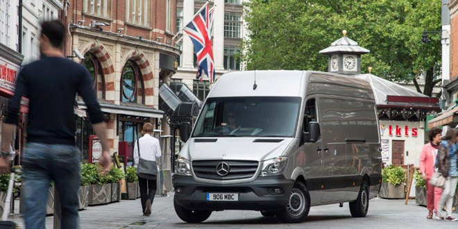 Mercedes-Benz Sprinter crowned 2013 Fleet Van of the Year