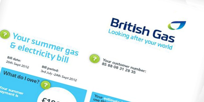 British Gas energy bills to reduce by over £50