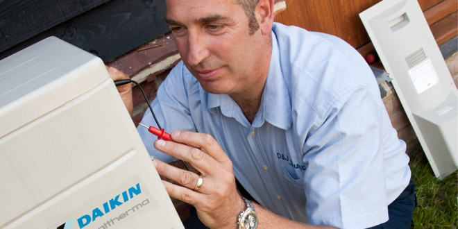 Daikin UK Supports DECC's RHI Training Scheme