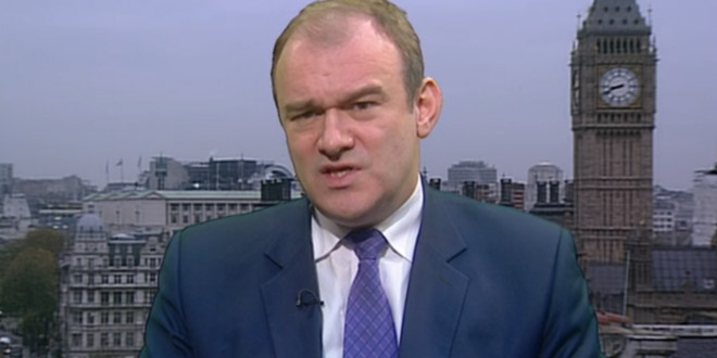 Ed Davey talks about the fuel bill cuts