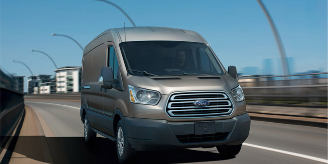 Ford's all-new Transit offers unbeatable load carrying capability