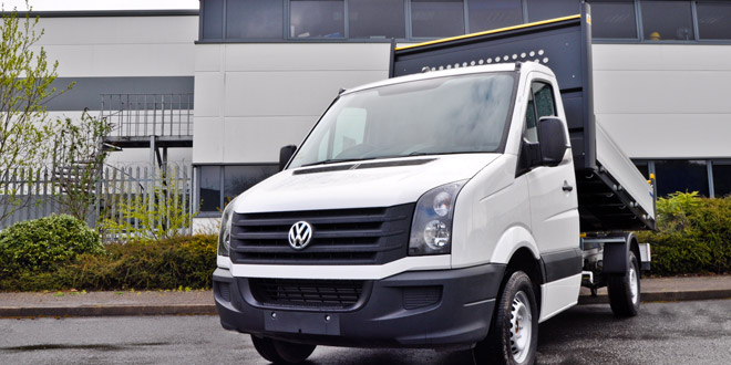 Volkswagen's Crafter Engineered to go™ scheme
