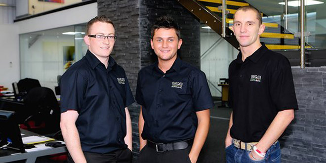 Youngsters helping to drive forward the growth of gas safety business
