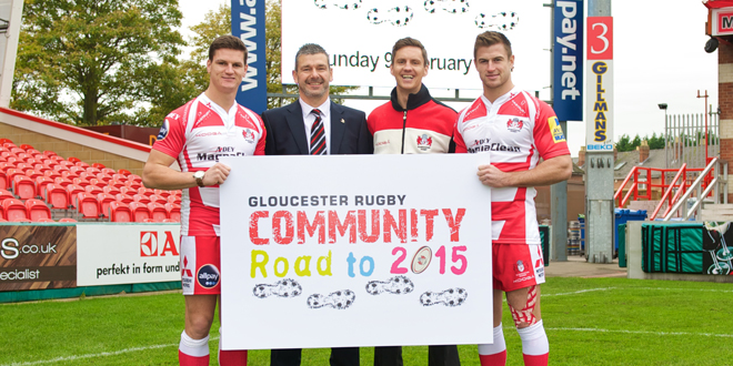 ADEY backs Gloucester Rugby's World Cup campaign