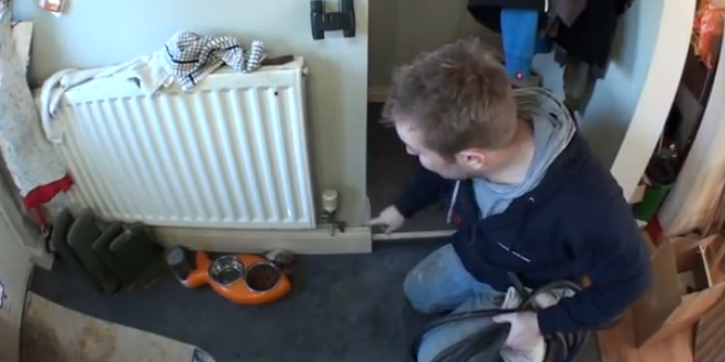 How to drain your heating system