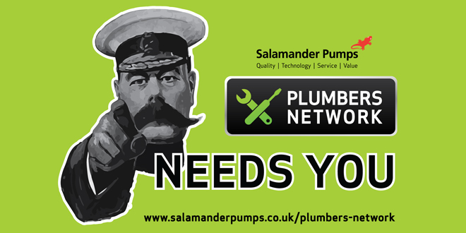 Salamander Pumps announces plans to recruit new Plumbers Network