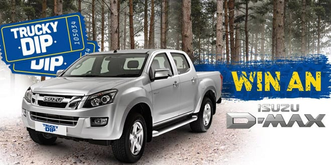 Popular - Jewson launches Isuzu D-Max 'Trucky Dip'