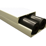 Air Source Heat Pump – External Trunking