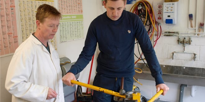 New plumbing training centre to open in Northampton