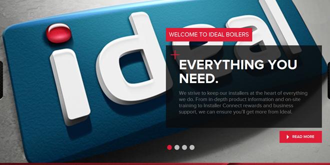 Ideal Boilers revamps website
