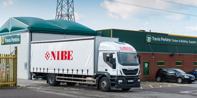 NIBE expands its distribution with Travis Perkins Group