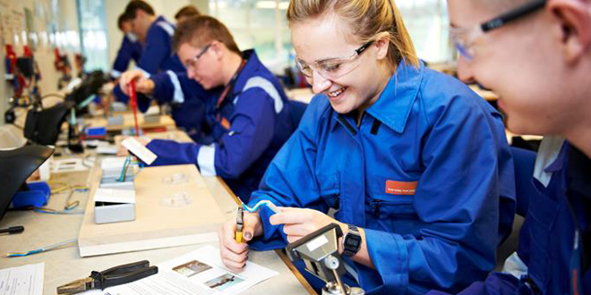Energy sector employs over 1,400 apprentices