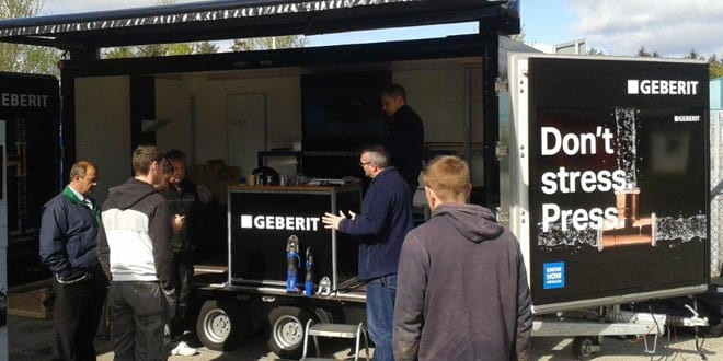 Popular - Geberit on tour around UK and Ireland