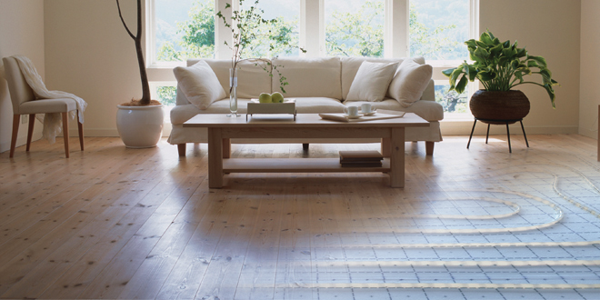 Uponor adds weight to national underfloor heating campaign