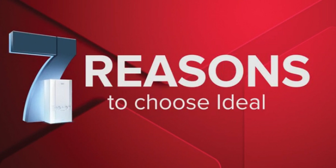 Magnificent 7 - Reasons to choose Ideal Boilers