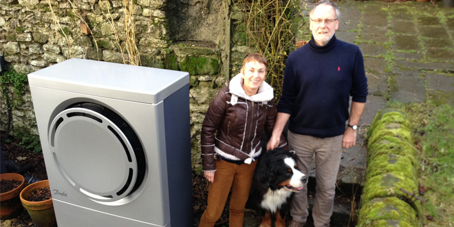 Former pub upgraded with sustainable heat pumps