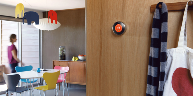 Nest learning thermostat now available in the UK