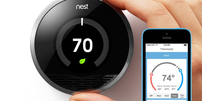 The changing face of controls from Nest