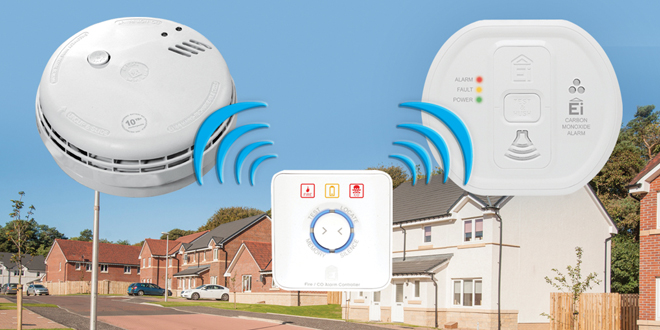 13,500 properties fit smoke and carbon monoxide alarms