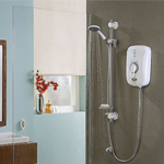 Safeguard+ thermostatic electric shower