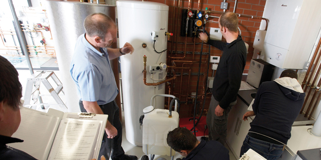 Half price cylinder training with Worcester